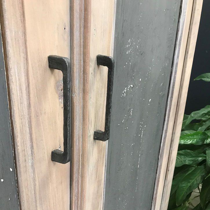Poignées rénovées en métaline